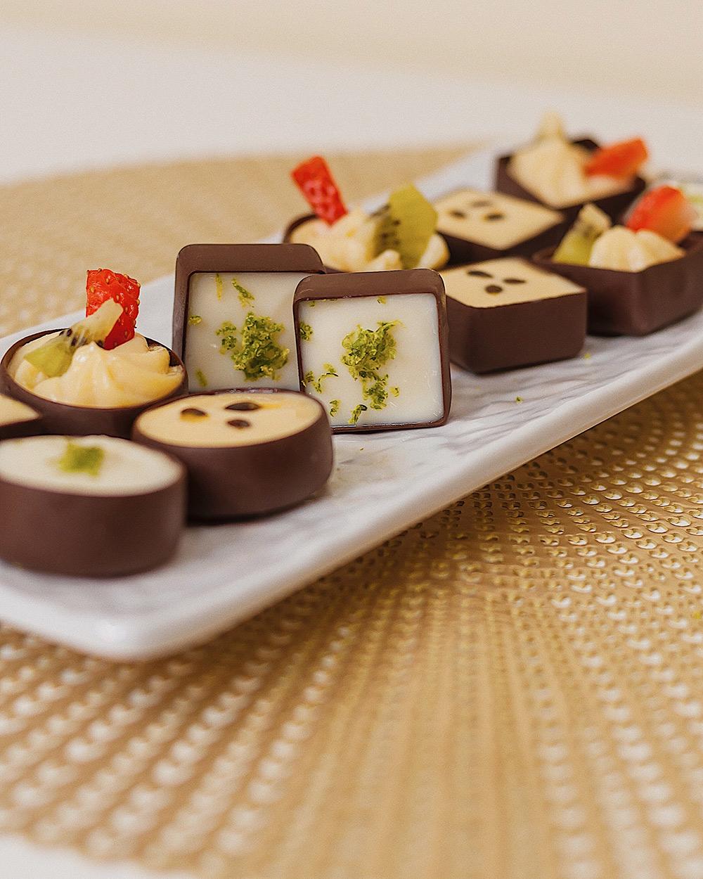 Catering Mini Tartaletas de Chocolate Maikai
